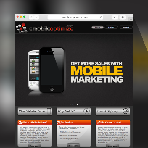 Emobile Optimize