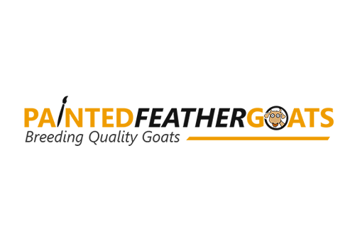 Painted Feather Goats Logo